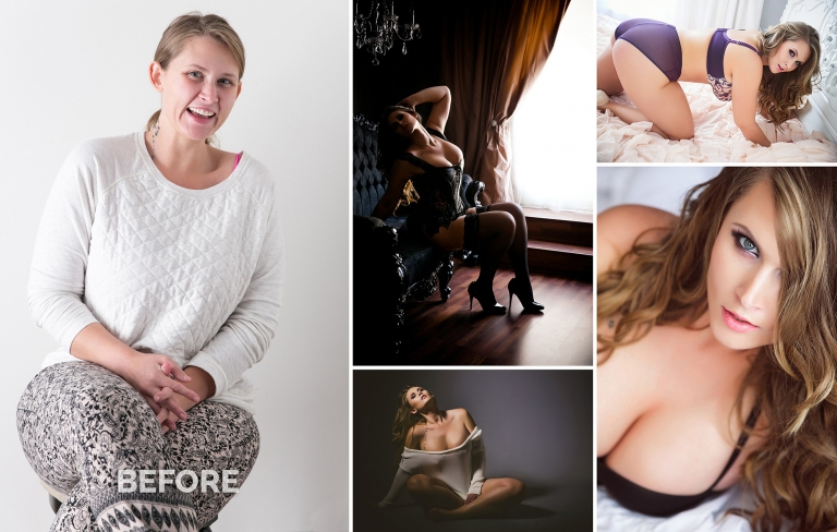 Belle Boudoir Before and After